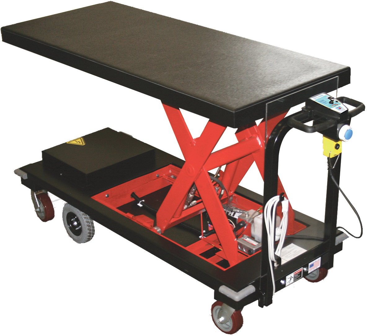 Americartusa motorized carts powered platform carts Motorized table